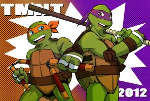 TMNT 2012 postcard 02 by riyancyy777