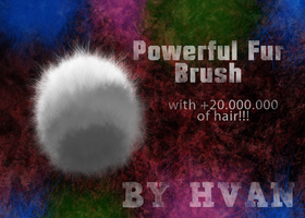 Powerful Fur Brush by Hvan