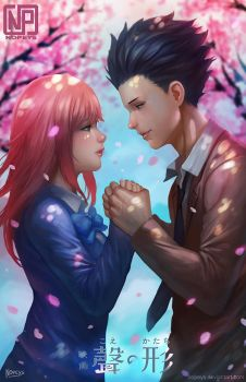 A Silent Voice by NOPEYS
