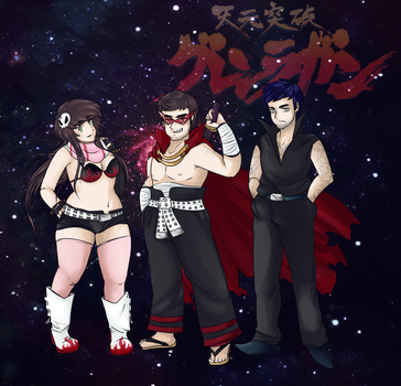 .:Team Dai-Gurren:. by rikulee