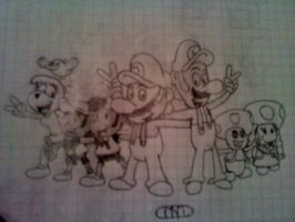 Super Mario Bros. and Friends 2 Final by MrNintMan