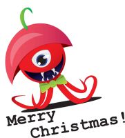 Free Merry Christmas by InterGrapher