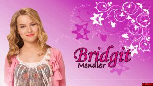 Bridgit Mendler Wallpaper Pink by JTAG-Alien