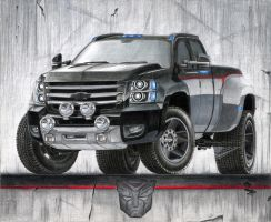 Chevrolet Silverado Transformed by SeawolfPaul
