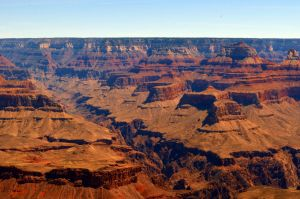Red Canyon Skyline by Kikuhime