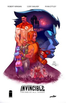 Invincible movie poster colors by danimation2001