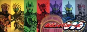 Kamen Rider OOO FB Cover by TouchboyJ-Hero