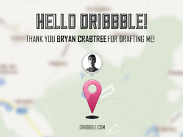I'm on dribbble! by OtherPlanet