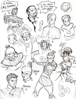 Avatar Ink Doodles by Booter-Freak