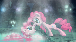 Pinkie pie mirror mare, the living reflection. by Skwareblox
