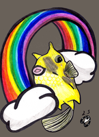 Cowfish Dreams by laurytheotter