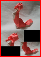 Origami Fox! by OrigamiFolder13