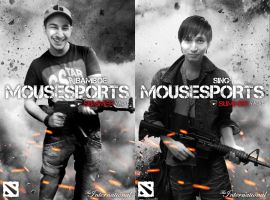 The Expendables - Mousesports by goldenhearted