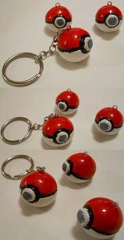 Pokeball Charms for SALE by EmotionlessBlue