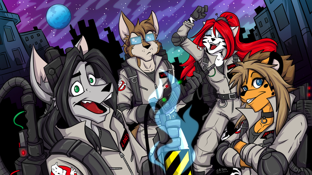 Who Ya Gonna Call? by shadowpantherkat