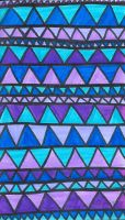 Blue And Purple Triangles by emily3371