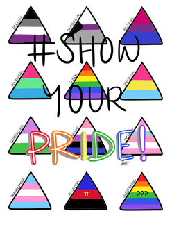 Show Your Pride! LGBT Poster by LokWing