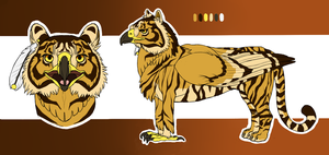 Tiger Gryphon - Taravia Contest Entry by Speras