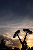 Intertwined Hammers of Thor. by LaviniaU