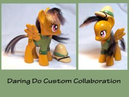 Daring Do Custom Toy by CadmiumCrab
