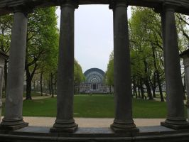 Columned View by Smaragd01
