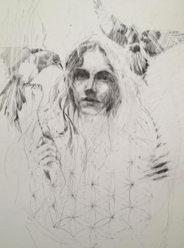 2 for joy (detail) wip by Carnegriff