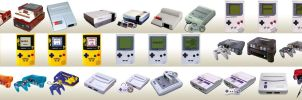 Nintendo Classic Systems by mseeley