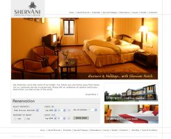 hotel website by devender87