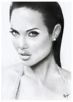Angelina Jolie by Jerner