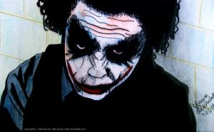 Heath Ledger - Why So Serious? by joona-smiles