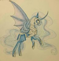 Nightmare Moon by PonetteDeFeu