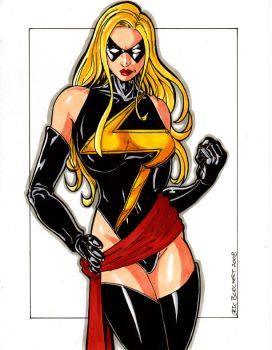 Ms. Marvel 2008 by ericborc