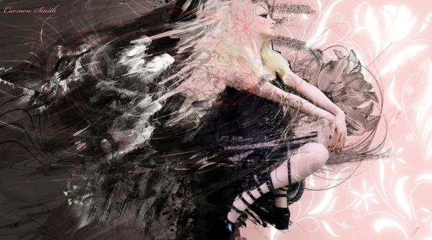 Abstract Girl by Emo-Ghoul-Graphics