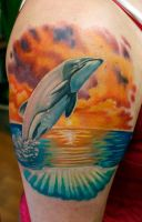 Maui's Dolphin by Sean Ambrose @ Arrows and Embers by seanspoison
