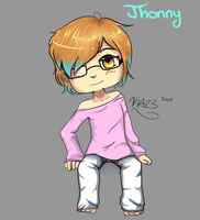 Jhonny(manythings101 art request) by KawaiiAngel23