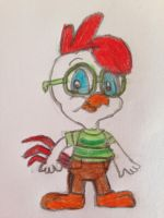 Fowlmouth as Chicken Little by nintendolover2010