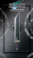 FFVII Broadsword - Buster Sword - by WeapondesignerDawe