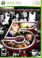 DEAD OR ALIVE 5 ~ Xbox 360 Cover/BOX by Leifang12