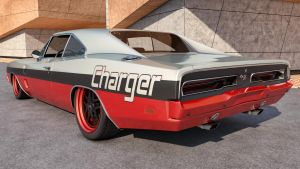 1969 Dodge Charger R/T by SamCurry