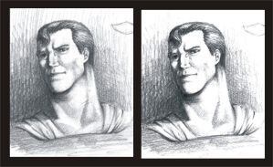 Superman Portrait by splendidriver