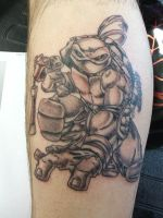 Mikey from TMNT by Shadowtat