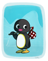 Pingu by chibitracydoodles