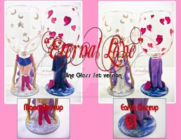 'Eternal Love' Wine Glass Ver by ForesakenFaerie