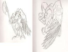 two Grimm designs by AkityMH