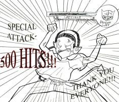 500 HITS by NickSwift