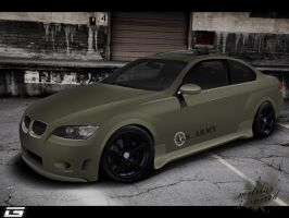 Bmw Serie 3 MILITARY INSPIRED by guile-creations