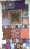 Quilted Afghan by Chryssta