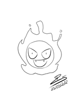 F*** Pikachu, Gastly FTW! :D by Blue-Cat00