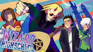 Thrilling Intent: Wizard Highschool by FrameDodge