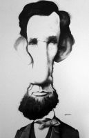 Abraham Lincoln by manohead
